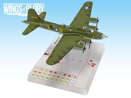 """Wings of Glory WW2: B-17f """"Memphis Belle"""" WGS303A"""