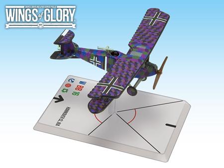 Wings of Glory WW1: HANNOVER CL.IIIA (BAUR/VON HENGL) WGF208B