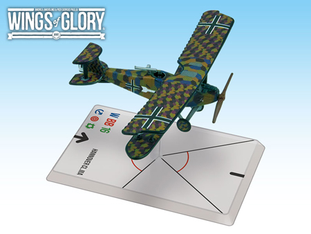 Wings of Glory WW1: HANNOVER CL.IIIA (HAGER/WEBER) WGF208A
