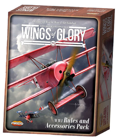 Wings of Glory WW1: Rules and Accessories Pack + Airplane Packs Combo WGF600A