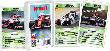 Quarett - Formel 1 (Klarsichtetui)