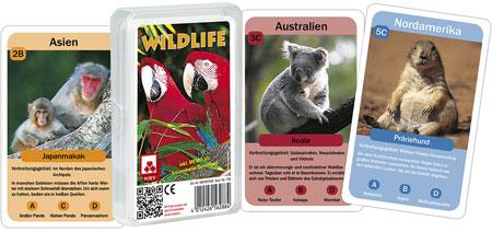 Quartett - Wildlife (Klarsichtetui)