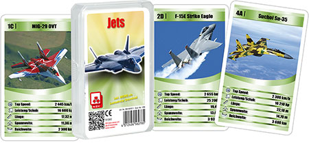 Quartett - Jets (Klarsichtetui)