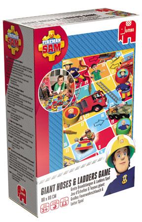 Feuerwehrmann Sam - Feuerwehrschlauch & Leiter Bodenspiel