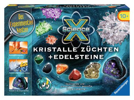 ScienceX - Kristalle züchten und Edelsteine