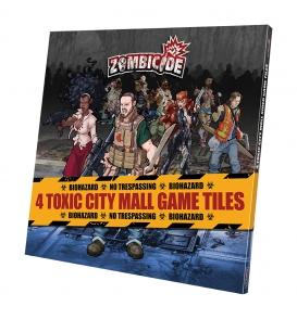 Spielplanteile für Zombicide - Toxic City Mall Erweiterung (engl.)