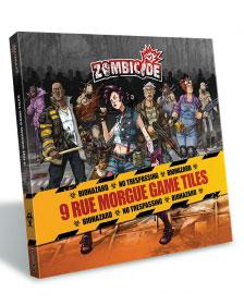 Spielplanteile für Zombicide - Rue Morgue (Season 3)