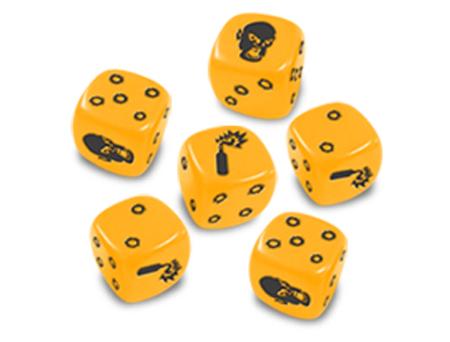 Zombicide - Gelbe Spezialwürfel