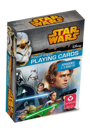 Star Wars -  Episode 1-3 Spielkarten
