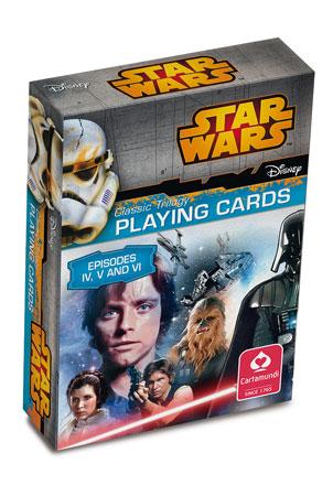 Star Wars -  Episode 4-6 Spielkarten