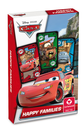 Disney Pixar Cars - Quartett & Aktionspiel