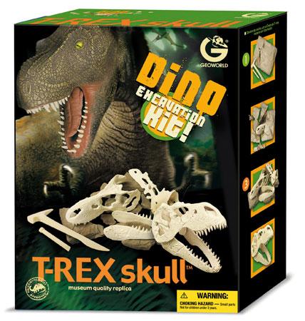 Ausgrabungsset - T-Rex-Schädel (ExpK)