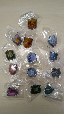 12 Realms Bedtime Story - Metal Pins
