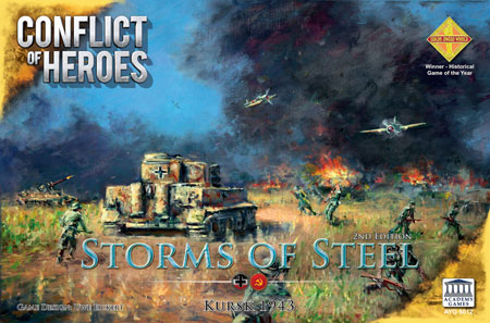 Conflict of Heroes - Storms of Steel 3rd Edition (engl.)