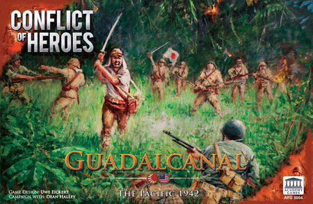 Conflict of Heroes - Guadalcanal - The Pacific 1942 (engl.)