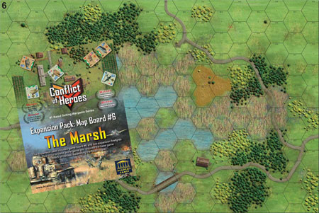 Conflict of Heroes - The Marsh 3. Edition Erweiterung (engl.)