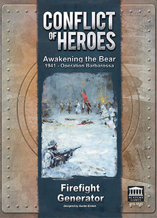 Conflict of Heroes - Awakening the Bear! - Firefight Generator Erweiterung (engl.)
