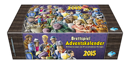 Der Brettspiel - Adventskalender 2015