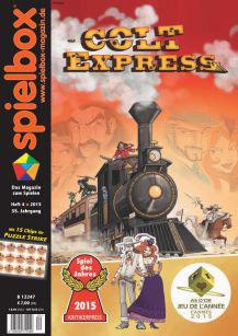 Spielbox 4/2015 englische Ausgabe
