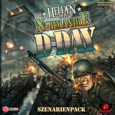 Helden der Normandie - D-Day Szenarienpack (Erweiterung) (dt.)