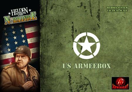 Helden der Normandie - US Armeebox (Erweiterung) (dt.)