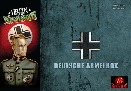 Helden der Normandie - Deutsche Armeebox (Erweiterung) (dt.)