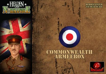 Helden der Normandie - Commonwealth Armeebox (Erweiterung) (dt.)