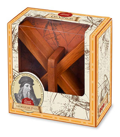 Professor Puzzle - Great Minds: Da Vincis Helikopter