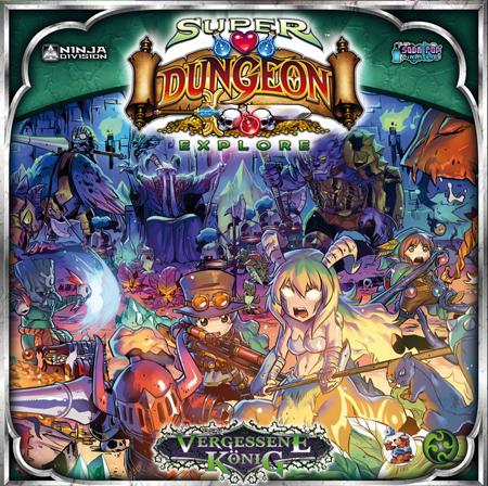 Super Dungeon Explore: Der Vergessene König - Miniaturenspiel