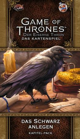 Der Eiserne Thron - Das Kartenspiel - Das Schwarz anlegen (Westeros 1)