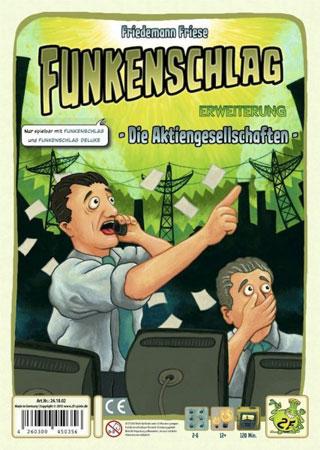 Funkenschlag - Erweiterung Die Aktiengesellschaften