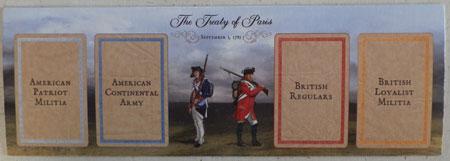 Birth of America - 1775 - Rebellion - The American Revolution - Kartentableau Treaty of Paris