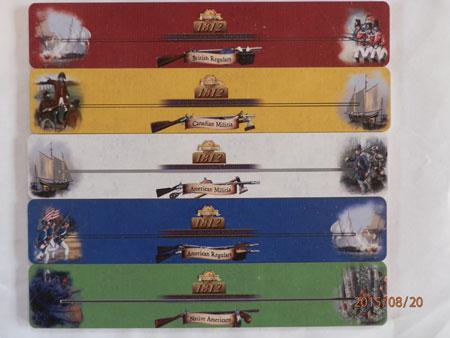 1812 The Invasion of Canada - Kartenhalterset