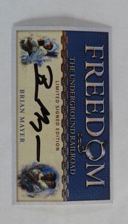 Freedom - signierte Autogrammkarte