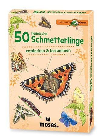 Expedition Natur - 50 heimische Schmetterlinge