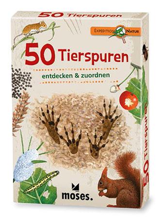 Expedition Natur - 50 Tierspuren entdecken und zuordnen