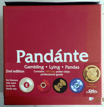 Pandante 2nd Edition - Deluxe (No Chips) (engl.)