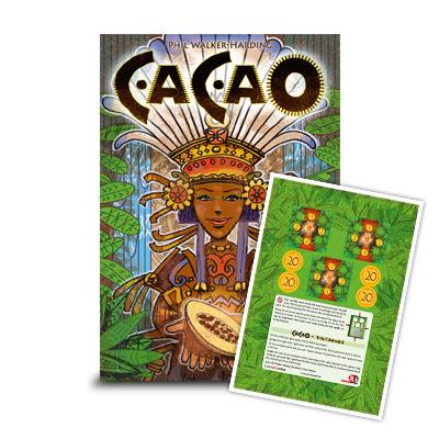 Cacao + Einleger mit Vulkane-Erweiterung