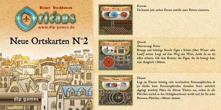 Orléans - Ortskarten (Edition 2) Erweiterung