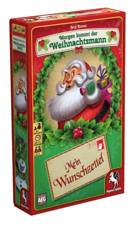 Morgen kommt der Weihnachtsmann - Mein Wunschzettel