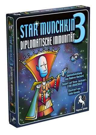Star Munchkin 3 - Diplomatische Immunität (dt.)