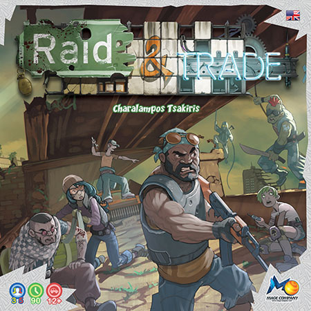 Raid and Trade (engl.) - Basisspiel - bemalte Figuren