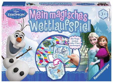 Die Eiskönigin - Mein magisches Wettlaufspiel