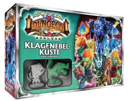 Super Dungeon Explore - Der Vergessene König - Klagenebelküste Erweiterung