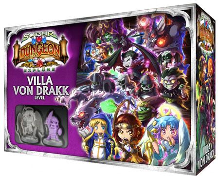 Super Dungeon Explore: Der Vergessene König - Villa von Drakk Level-Box Erweiterung