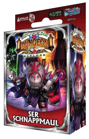 Super Dungeon Explore: Der Vergessene König - Ser Schnappmaul Erweiterung