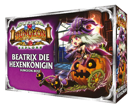 Super Dungeon Explore: Der Vergessene König - Beatrix, die Hexenkönigin Erweiterung