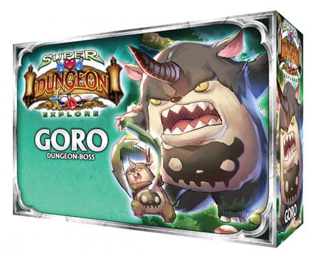 Super Dungeon Explore: Der Vergessene König - Goro Erweiterung