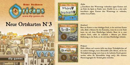 Orléans - Ortskarten (Edition 3) Erweiterung