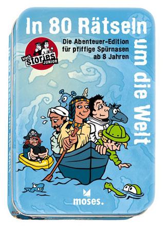 Black Stories - Junior - In 80 Tagen um die Welt (Abenteuer-Edition)